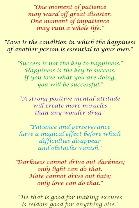 Powerful Inspirational Quotes